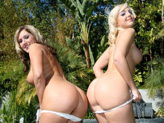 BTS-Live Nude Girls Lacey Maguire & Jessica Shaw