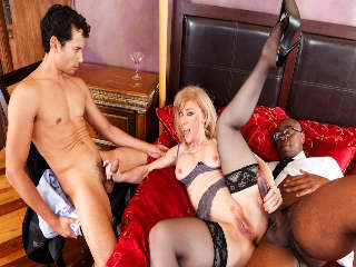 Interracial Anal MILFs Nina Hartley & Sean Michaels